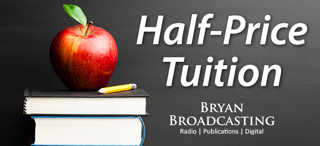 Half Price Tuition Header